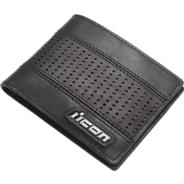 Icon Leather Wallet - Icon Busted and Broken Wallet