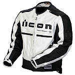 Icon Motorhead Leather Jacket - RIDING-JACKETS--HOT-LEATHERS Motorcycle Jackets and Vests