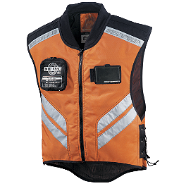 Icon Military Spec Mesh Vest - Fly Racing Fast-Pass Vest - Hi-Viz