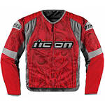 Icon Overlord Sportbike SB1 Mesh Jacket - ICON Cruiser Jackets and Vests