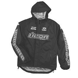 Icon PDX Rain Jacket - Alpinestars RJ-5 Rain Jacket