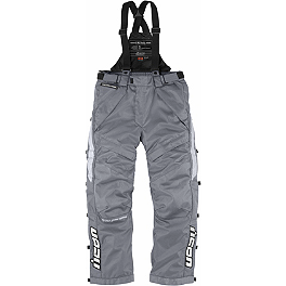 Icon Patrol Raiden Waterproof Pants - Dainese Norsorex Vest