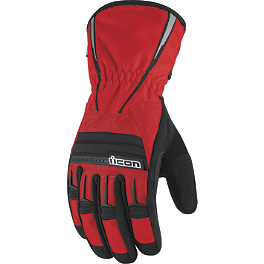 Icon PDX Waterproof Gloves - Teknic Tornado Waterproof Gloves