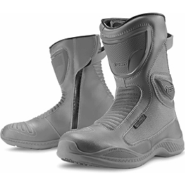 Icon Reign Waterproof Boots - Alpinestars Alpha Touring Waterproof Boots