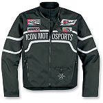 Icon Brawnson Sidewinder Jacket -  Motorcycle Jackets and Vests