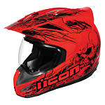 Icon Variant Helmet - Etched - Dual Sport Motorcycle Helmets & Accessories