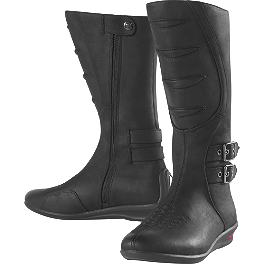 Icon Women's Sacred Boots - TourMaster Women's Solution 2.0 Waterproof Road Boots