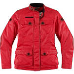 Icon 1000 Women's Akorp Jacket - Leather Motorcycle Riding Jackets