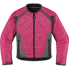 Icon Women's Anthem Mesh Jacket - Icon Women's Overlord Sportbike SB1 Mesh Jacket