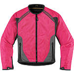 Icon Women's Anthem Mesh Jacket - ICON Motorcycle Products