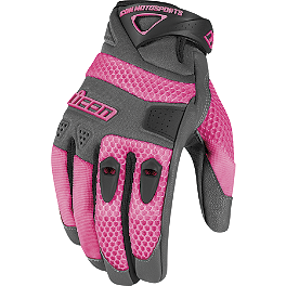 Icon Women's Anthem Gloves - Scorpion Women's Cool Hand II Gloves