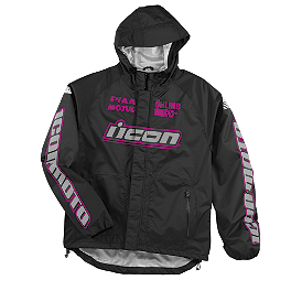 Icon Women's PDX Rain Jacket - Scorpion Women's Empire Pants