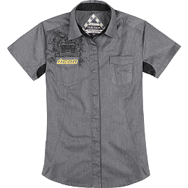 Icon Women's Harlequin 2 Workshirt - Icon Women's Harlequin Workshirt