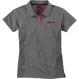 Icon Women's Janes Polo - Icon Women's Harlequin Workshirt
