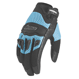 Icon Women's Twenty-Niner Gloves - Cortech Women's DX 2 Gloves