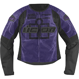 Icon Women's Overlord Type 1 Jacket - Icon Women's Overlord Sportbike SB1 Mesh Jacket
