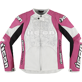 Icon Women's Overlord Prime Jacket - Icon Women's Overlord Sportbike SB1 Mesh Jacket