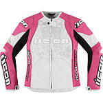 Icon Women's Overlord Prime Jacket - ICON Motorcycle Products