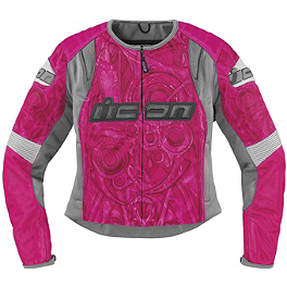 Icon Women's Overlord Sportbike SB1 Mesh Jacket - Dainese Women's Map Thermal Shirt