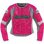 Icon Women's Overlord Sportbike SB1 Mesh Jacket -  Cruiser Jackets and Vests