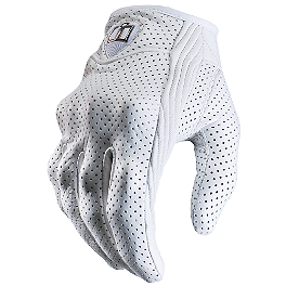 Icon Women's Pursuit Gloves - Fieldsheer Women's Vanity Perforated Gloves