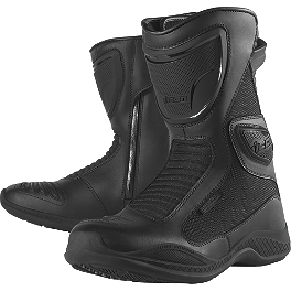 Icon Women's Reign Boots - TourMaster Women's Solution 2.0 Waterproof Road Boots