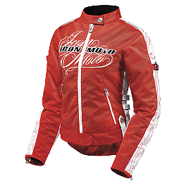 Icon Women's Hella Street Angel Jacket - Scorpion Women's Kingdom Jacket