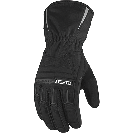 Icon Women's PDX Waterproof Gloves - Alpinestars Stella Women's Messenger Drystar Gloves