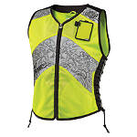Icon Women's Corset Reflective Vest -  Motorcycle Safety Gear & Protective Gear