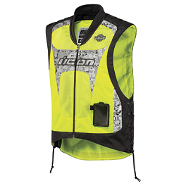 Icon Interceptor Reflective Vest - Icon Military Spec Mesh Vest