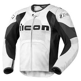 Icon Overlord Prime Leather Jacket - Icon Overlord Gloves - Short