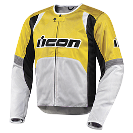 Icon Overlord Textile Jacket - Icon Hooligan 2 Etched Jacket