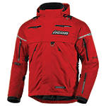 Icon Patrol Waterproof Jacket - ICON Dirt Bike Products