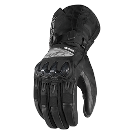 Icon Patrol Waterproof Gloves - Icon Compound Mesh Long Gloves