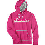 Icon Women's County Hoody - Dirt Bike Womens Casual