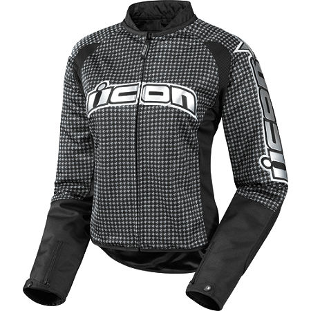 Icon Women's Hooligan 2 Glam Jacket - Main