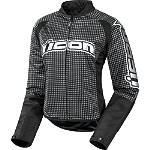 Icon Women's Hooligan 2 Glam Jacket - Motorcycle Jackets and Vests