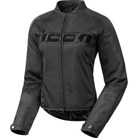 Icon Women's Hooligan 2 Stealth Jacket - Main