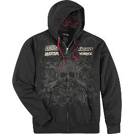 Icon Rat Zip Hoody - Icon Shangri-La Hoody