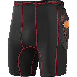 Icon Stryker Field Armor Shorts - Icon Stryker Field Armor Elbow Guard