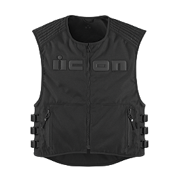 Icon Brigand Vest - Speed & Strength Hard Knock Life Leather Vest