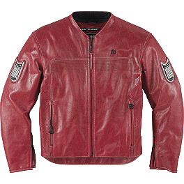 Icon 1000 Chapter Jacket - Icon Compound Leather / Textile Jacket
