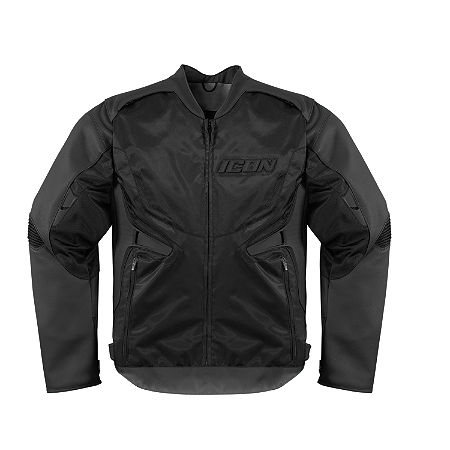 Icon Compound Leather / Textile Jacket - Main
