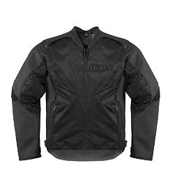 Icon Compound Leather / Textile Jacket - Icon Compound Mesh Long Gloves