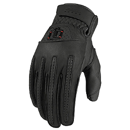 Icon 1000 Rimfire Gloves - Icon Device Touchscreen Long Gloves