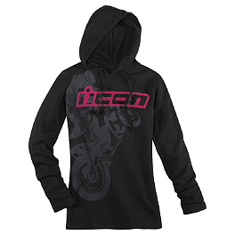 Icon Women's Britton Hoody - One Industries Women's Icon Et Zip Hoody