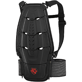 Icon Stryker Back Protector - Teknic Speedstar Spine Guard