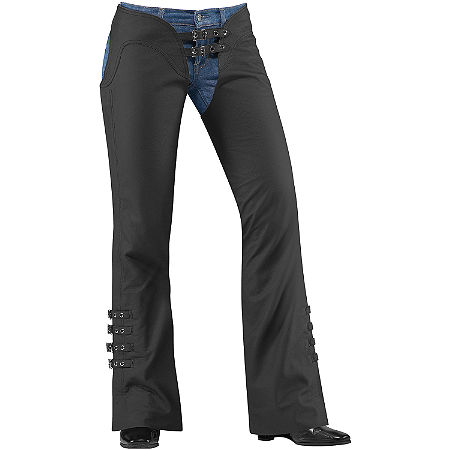Icon Women's Hella Leather Chaps - Main