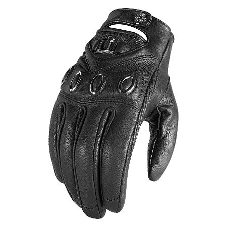 Icon Women's Hella Leather Gloves - Main