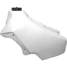 IMS Gas Tank - 3.6 Gallons White - 1989 Honda CR500 IMS Super Stock Footpegs